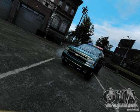 Chevrolet Tahoe Hungarian Vam-Zoll Custom für GTA 4 rechte Ansicht