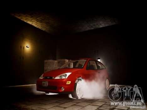 Ford Focus SVT 2003 pour GTA 4 Vue arrière
