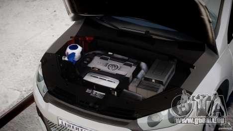 Volkswagen Scirocco III 2008 pour GTA 4 Vue arrière