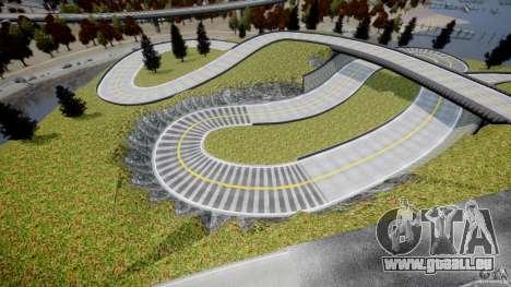 Edem Hill Drift Track für GTA 4 weiter Screenshot