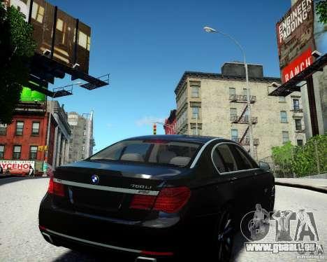 BMW 750Li 2013 pour GTA 4 est un droit