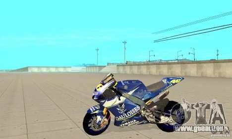 Honda Valentino Rossi Fcr900 für GTA San Andreas linke Ansicht