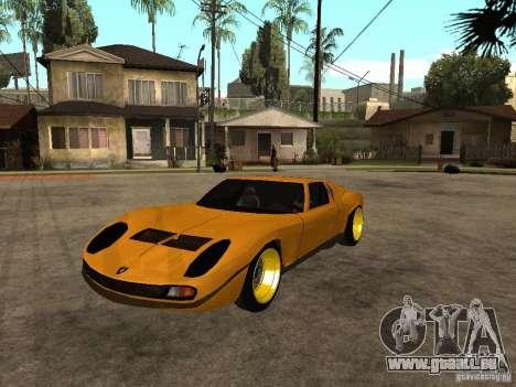 Lamborghini Miura für GTA San Andreas