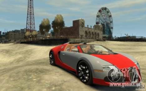 2009 Bugatti Veyron Grand Sport [EPM] für GTA 4 Rückansicht