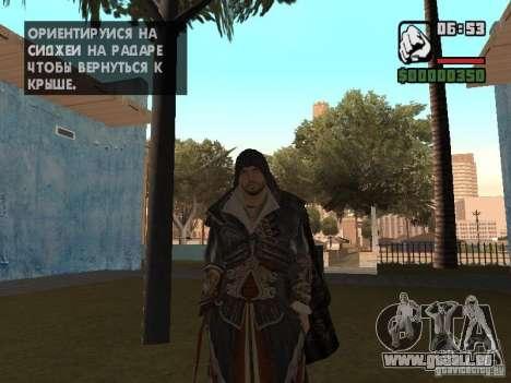Ezio Auditores in Rüstung von Altair für GTA San Andreas