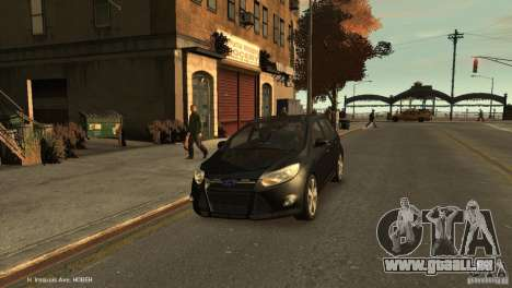 Ford Focus Universal Unmarked pour GTA 4