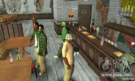 Home inside pour GTA San Andreas
