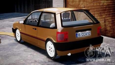 Fiat Tipo 1990 pour GTA 4 est un côté
