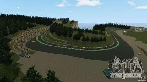 SPA Francorchamps [Beta] pour GTA 4 cinquième écran