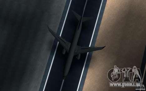 Sukhoi SuperJet-100 pour GTA San Andreas vue arrière