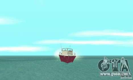 Sports Fishing Boat pour GTA San Andreas vue de droite
