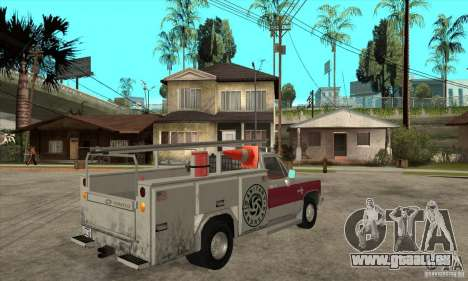Chevrolet Silverado - utility pour GTA San Andreas vue de droite