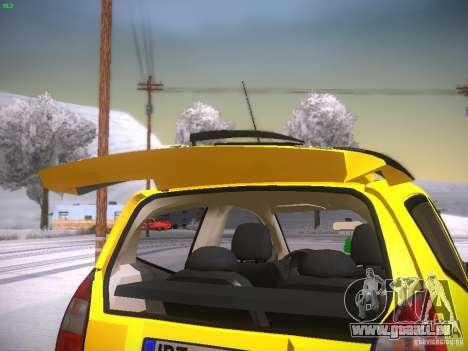 Citroen C2 pour GTA San Andreas vue de côté