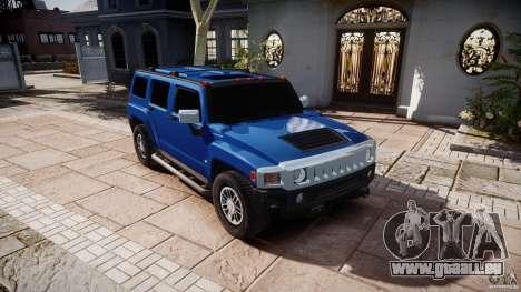 Hummer H3 pour GTA 4 Vue arrière