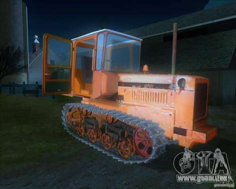 Tracteur DT-75 Postman pour GTA San Andreas laissé vue