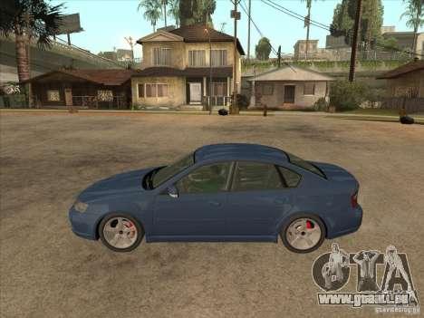 Subaru Legacy 3.0 R pour GTA San Andreas laissé vue