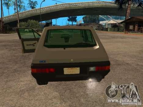 Fiat Ritmo für GTA San Andreas Rückansicht