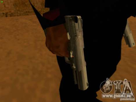 Five-Seven MW3 für GTA San Andreas zweiten Screenshot