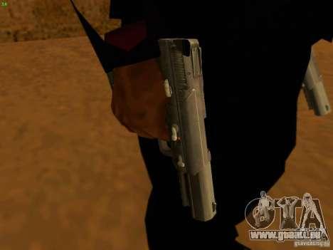 Five-Seven MW3 für GTA San Andreas zweiten Screenshot