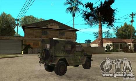Mercedes Wolf pour GTA San Andreas vue de droite