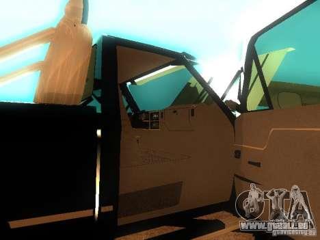 Ford F150 Off-Road pour GTA San Andreas laissé vue