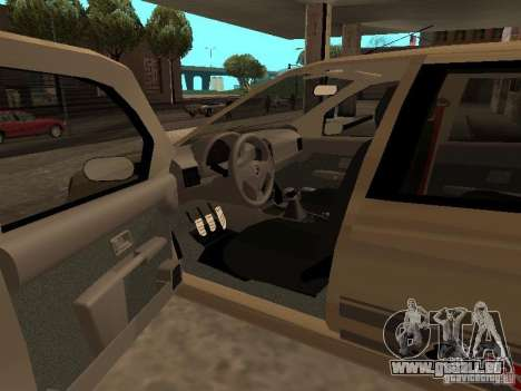 Fiat Palio 1.8R für GTA San Andreas zurück linke Ansicht