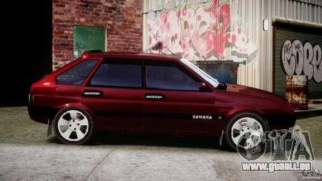 Vaz-2109 Samara 1999 pour GTA 4 est un côté