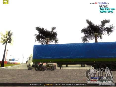 Nefaz 93344 pour GTA San Andreas laissé vue