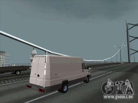 Iveco TurboDaily 35-10 für GTA San Andreas linke Ansicht