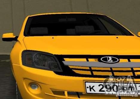 Lada Granta v2.0 für GTA Vice City Rückansicht