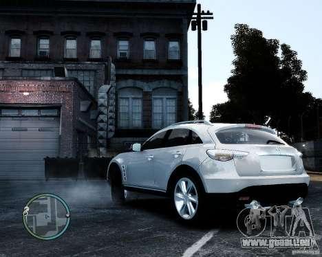 Infiniti FX50 für GTA 4 linke Ansicht