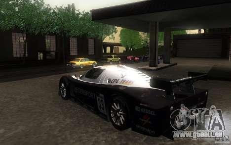 Maserati MC12 GT1 für GTA San Andreas rechten Ansicht