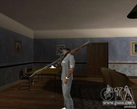 RPG 7 de Battlefield Vietnam pour GTA San Andreas deuxième écran