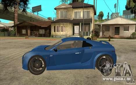 Mastretta MXT v1.1 pour GTA San Andreas laissé vue