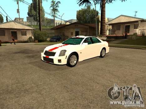 Cadillac CTS 2003 Tunable pour GTA San Andreas vue intérieure