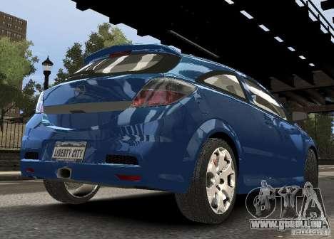 Opel Astra OPC für GTA 4 rechte Ansicht