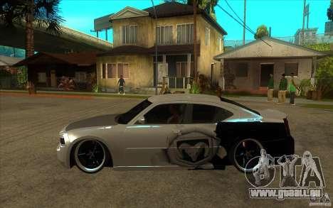 Dodge Charger SRT8 Tuning pour GTA San Andreas laissé vue