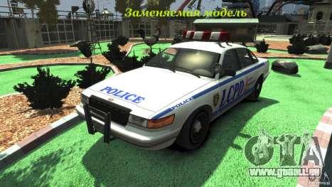 Police Bike pour GTA 4 est une vue de l'intérieur
