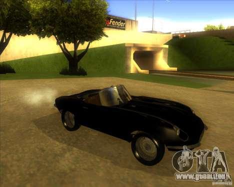 Jaguar E-type 1963 für GTA San Andreas