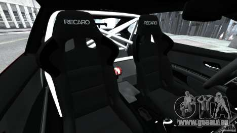 BMW M3 GTS 2010 für GTA 4 Innenansicht