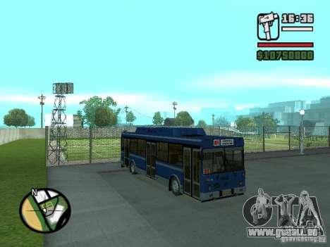 LIAZ 5283.70 pour GTA San Andreas laissé vue