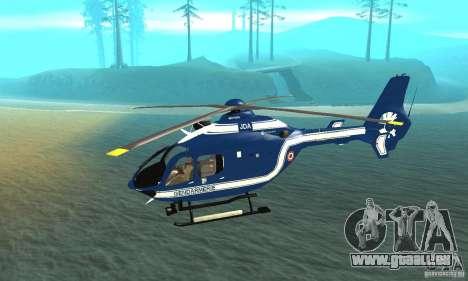 EC-135 Gendarmerie pour GTA San Andreas