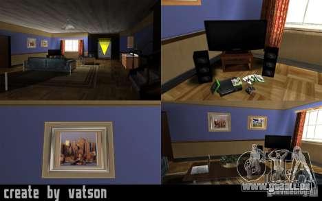 Die neue Halle in das Haus von CJ für GTA San Andreas