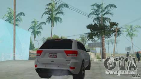 Jeep Grand Cherokee SRT8 2013 für GTA San Andreas linke Ansicht