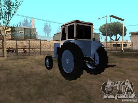 MTZ 52 pour GTA San Andreas sur la vue arrière gauche