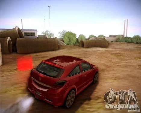 Opel Astra Saturn pour GTA San Andreas laissé vue