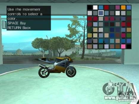 Automobil-Salon für GTA San Andreas fünften Screenshot