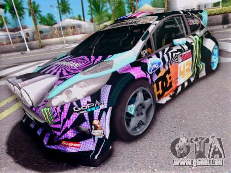 Ford Fiesta Gymkhana 6 pour GTA San Andreas
