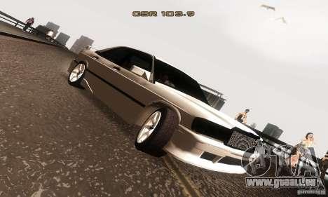 Mercedes-Benz 190E V2.0 pour GTA San Andreas vue arrière