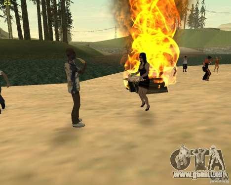 Partei auf die Natur für GTA San Andreas achten Screenshot